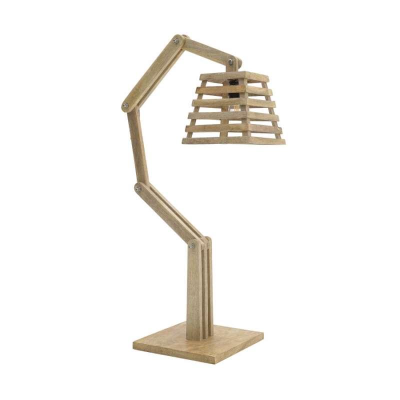 Lampă din lemn