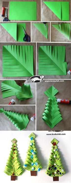 Decorațiuni de Crăciun din hârtie